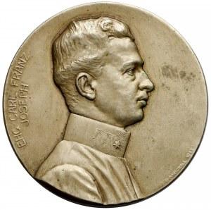 Austro-Węgry, Medal jednostronny, Arcyksiążę Karol Franciszek Józef 1915 r.