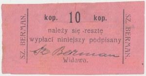 Widawa, SZ. BERMAN, 10 kopiejek