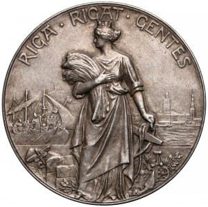 Ryga, Medal srebro 700-lecie miasta 1201-1901 - rzadki