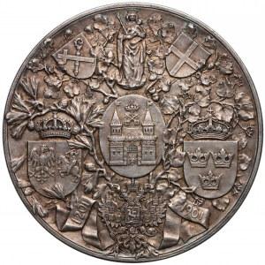 Ryga, Medal srebro 700-lecie miasta 1901 r. - rzadki