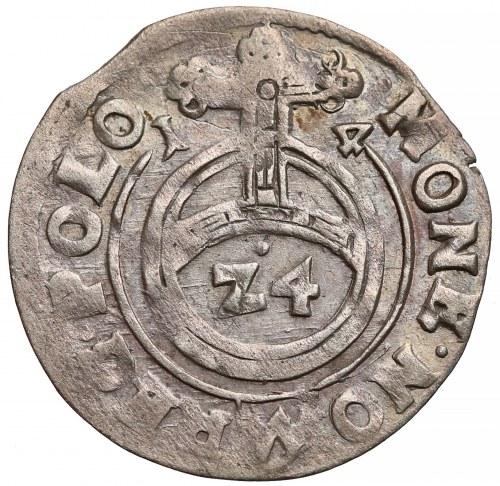 Zygmunt III Waza, Półtorak Bydgoszcz 1614 - orzeł, (Z4) - rzadki