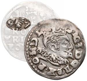 Zygmunt III Waza, Trojak Lublin 1597 - data przy Orle (R6)