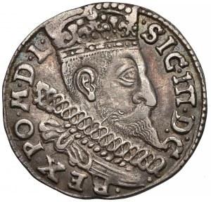 Zygmunt III Waza, Trojak Bydgoszcz 1598 - bez znaku