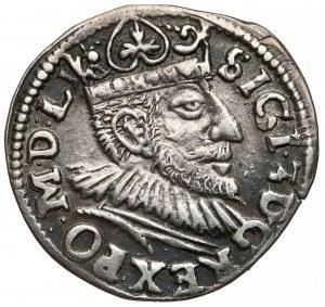 Zygmunt III Waza, Trojak Poznań 1593 - wydłużona