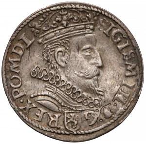 Zygmunt III Waza, Trojak Kraków 1605 - piątka z belką