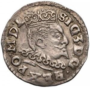Zygmunt III Waza, Trojak Lublin 1596 - data przy lwie