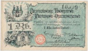 Częstochowa, 1 rubel 1914