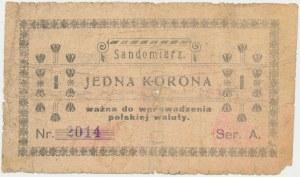 Sandomierz, 1 korona 1919
