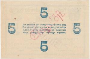 Inowrocław, 5 marek 1919 - stempel EINGELÖST