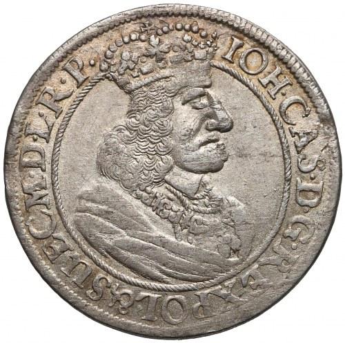 Jan II Kazimierz, Ort Gdańsk 1658/7 - GEDANENS - piękny