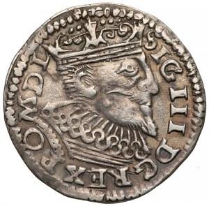 Zygmunt III Waza, Trojak Poznań 1597 - data w wierszu / SIG III