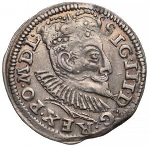 Zygmunt III Waza, Trojak Poznań 1597 - data u dołu