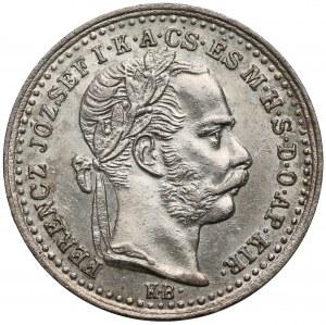 Austro-Węgry, 10 krajcarów 1872 KB