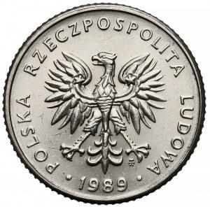 Próba NIKIEL 10 złotych 1989