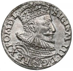 Zygmunt III Waza, Trojak Malbork 1594 - otwarty pierścień