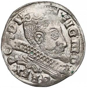 Zygmunt III Waza, Trojak Bydgoszcz 1599 - B z prawej