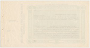 Sosnowice, SATURN, 3 ruble 1914 - blankiet z grzbietem