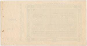 Sosnowice, SATURN, 5 rubli 1914 - blankiet z grzbietem