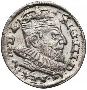 Zygmunt III Waza, Trojak Wilno 1593 - Platina