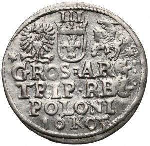 Zygmunt III Waza, Trojak Kraków 1605 - piątka bez belki