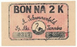 Tarnów, A. SCHWANENFELD, 2 korony (1919?)