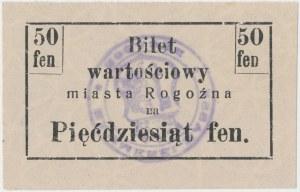 Rogoźno, 50 fenigów (1919)