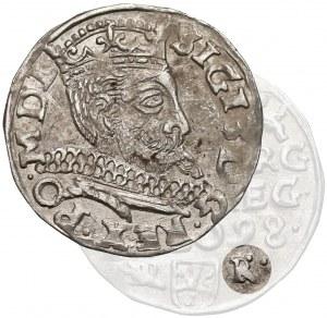 Zygmunt III Waza, Trojak Wschowa 1598 - błąd HR-R