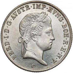 Austria, 20 krajcarów 1842-C