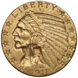 USA, 5 dolarów 1911 Indianin