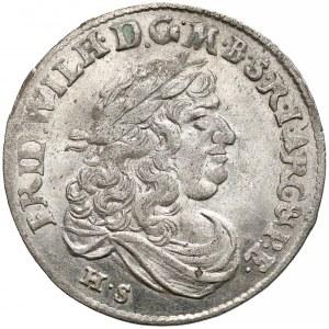 Niemcy, Prusy, Fryderyk Wilhelm, Szóstak Królewiec 1680 HS