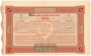 Państwowy Bank Rolny, List Zastawny 4.5% 5.000 złotych 1930