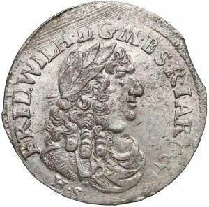 Niemcy, Prusy, Fryderyk Wilhelm, Szóstak Królewiec 1683 HS