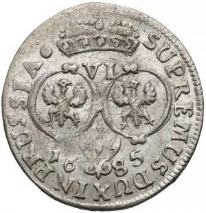 Niemcy, Prusy, Fryderyk Wilhelm, Szóstak Królewiec 1685 HA