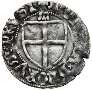 Konrad III von Jungingen, Szeląg Malbork - litera M