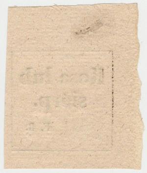 Wilcza Wola, Franciszek Rychlicki - Kosa lub siérp F.R. - bon rozliczeniowy za dniówkę