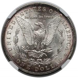 USA, Dolar 1882-S, San Francisco - NGC MS63