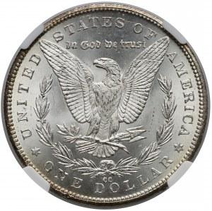 USA, Dolar 1884-CC, Carson City - NGC MS63