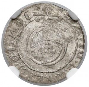 Kurlandia, Fryderyk Kazimierz, Półtorak Mitawa 1690 - NGC AU55