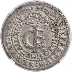 Jan II Kazimierz, Tymf Kraków 1665 AT - NGC XF45