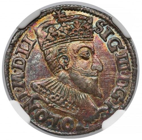 Zygmunt III Waza, Trojak Olkusz 1594 - NGC MS64✮