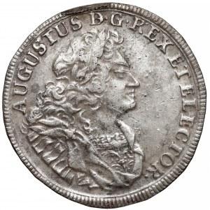 August II Mocny, Gulden (2/3 talara) 1709 ILH