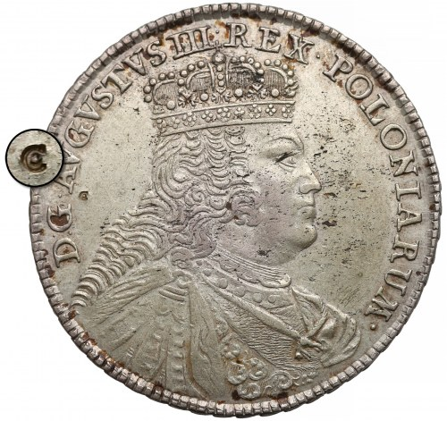 August III Sas, Talar Lipsk 1756 EDC - ex. CZAPSKI