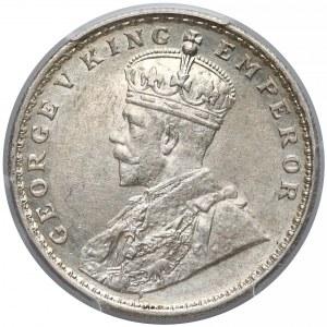 Indie brytyjskie, Rupia 1918 - PCGS AU55