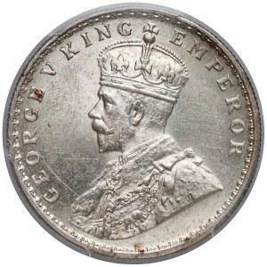 Indie brytyjskie, Rupia 1917 - PCGS MS63