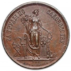 Rosja, Aleksander III, Medal Wystawa Petersburg 1884 - PCGS SP62