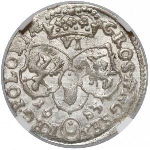 Jan III Sobieski, Szóstak Bydgoszcz 1683 - NGC MS62