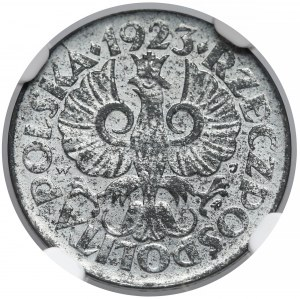Generalna Gubernia, 10 groszy 1923 - NGC MS63