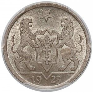Wolne Miasto Gdańsk, 1 gulden 1923 - PCGS MS65