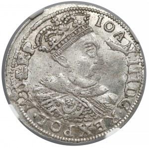 Jan III Sobieski, Szóstak Kraków 1683-C - NGC MS61
