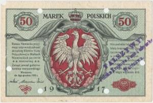 Falsyfikat z epoki 50 mkp 1916